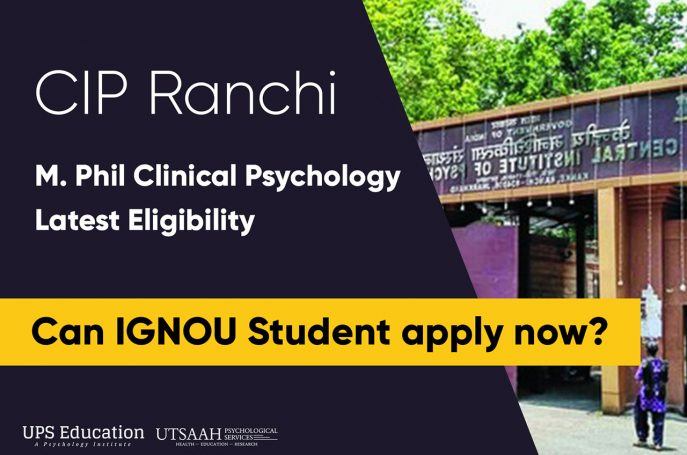 CIP Ranchi M.Phil Clinical Psychology Entrance