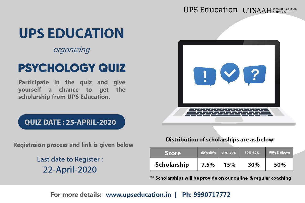 UPS Education Psychology quiz