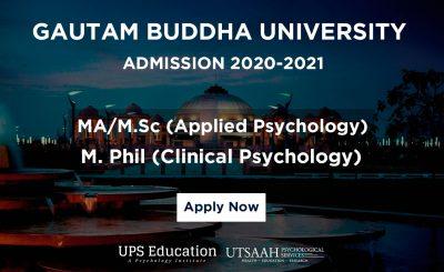 GBU MA and M.Phil Clinical Psychology Admission 2020