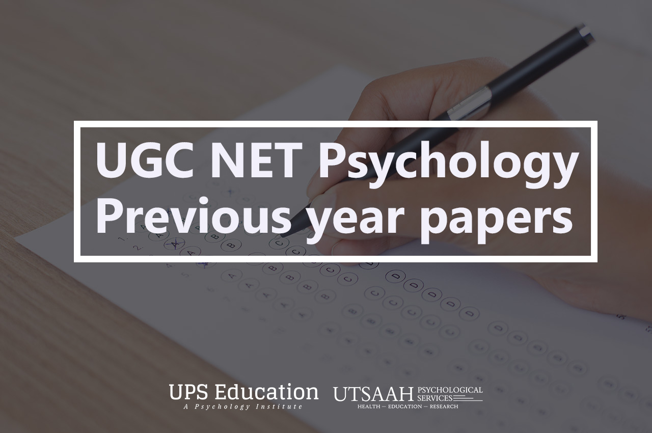 net psychology previous year papers