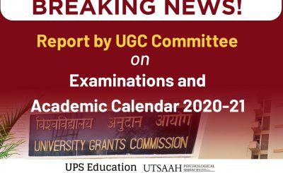 ugc report on new academic calander
