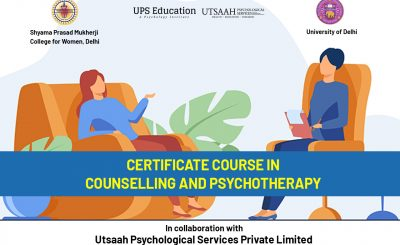 Certificate Course In Counselling And Psychotherapy