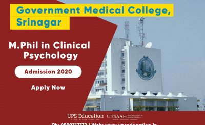 mphil clinical psychology admission 2020 kashmir