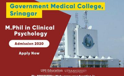mphil clinical psychology admission 2020 kashmir