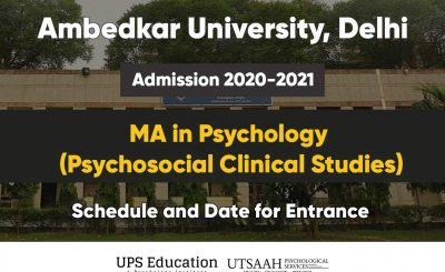 AUD MA Psychology exam rescheduled 2020