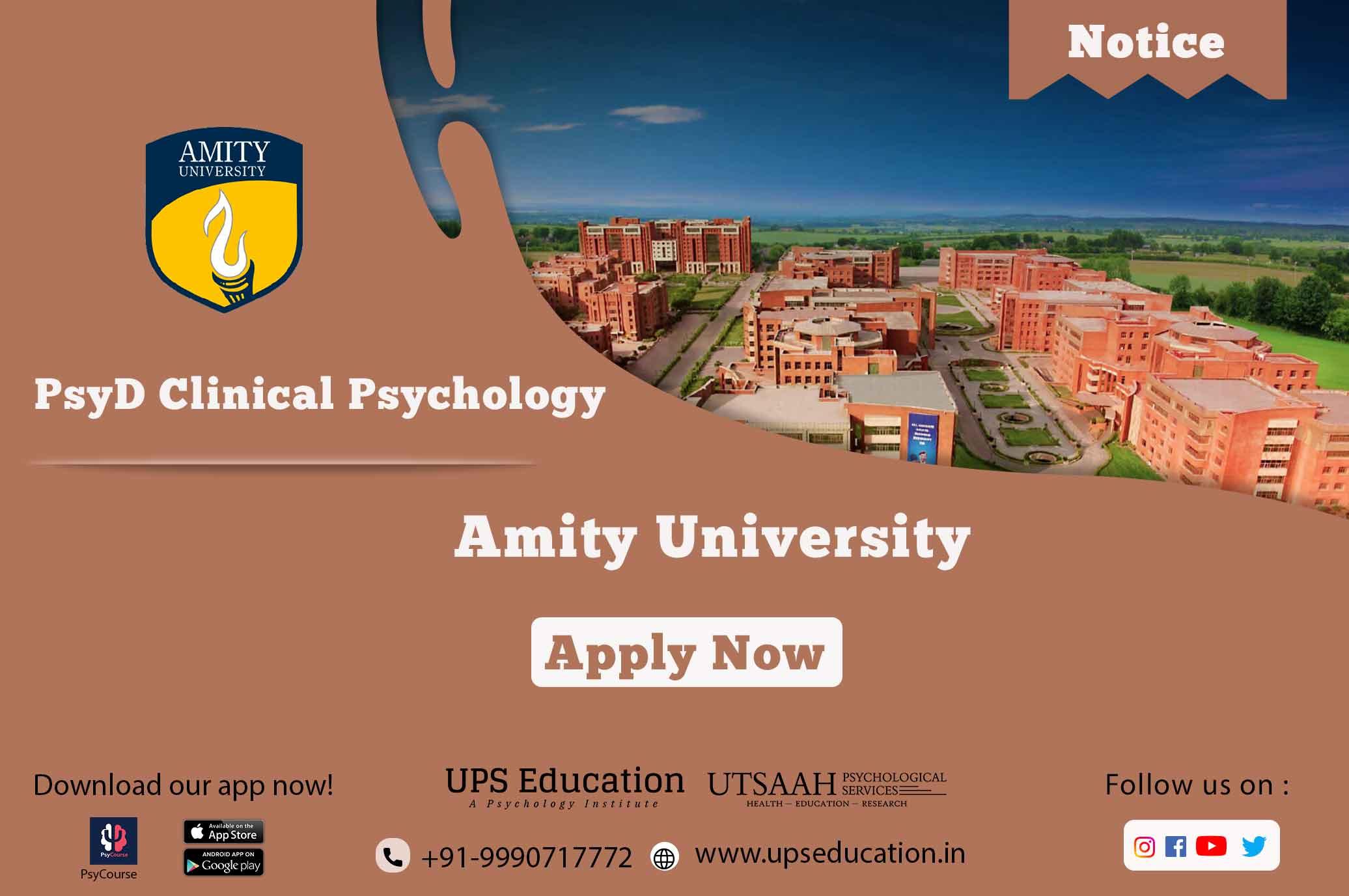 Amity university PsyD Clinical Psychology