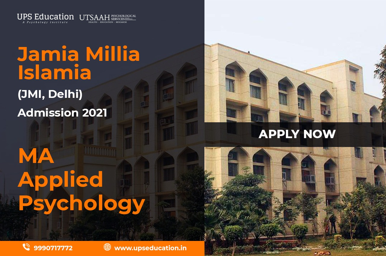 JMI MA in Applied Psychology Admission 2021