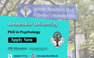 Ambedkar university PhD in Psychology Admission