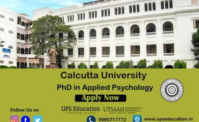calcutta university PhD in Clinical Psychology