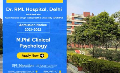Dr. RML Hospital (GGSIPU) M.Phil Clinical Psychology Admission 2021