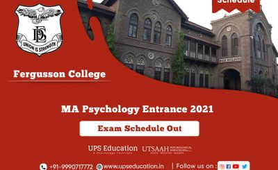 Fergusson College Time-Table and Guidelines for MA Psychology Entrance 2021