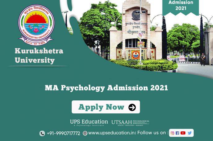 Kurukshetra University MA Psychology Admission open for 2021 session