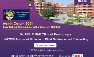 Guru Gobind Singh Indraprastha University 2021 Admit Card Out Now – UPS Education